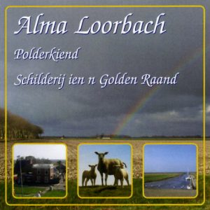 Alma Loorbach Polderkind Schilderij ien'n golden raand